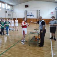 Okresní kolo v basketbalu starších žákyň
