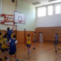 Okresní kolo v basketbalu starších žáků