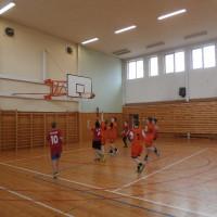 Okresní kolo v basketbalu mladších žáků